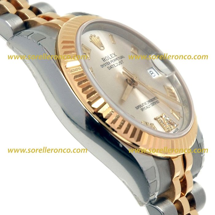 Sorelle ronco rolex datejust 31 178273 for Sorelle ronco rolex