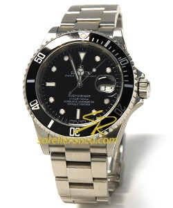 Sorelle ronco rolex submariner 16610 for Sorelle ronco rolex