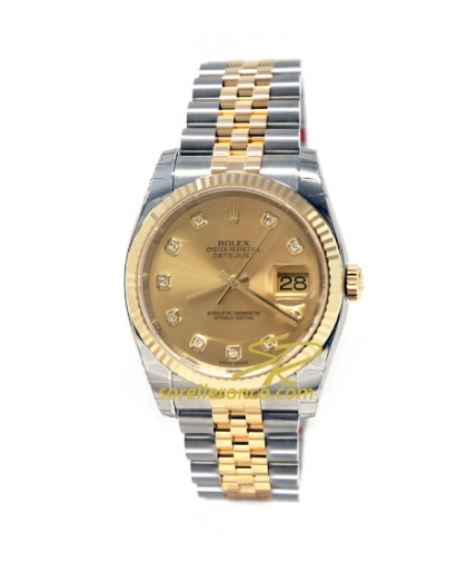 Sorelle ronco rolex datejust 116233 for Sorelle ronco rolex
