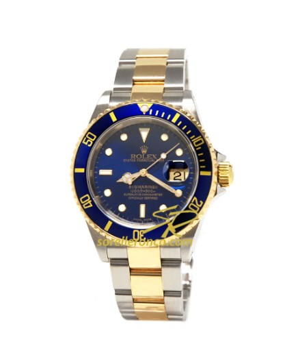 Sorelle ronco rolex submariner 16613 for Sorelle ronco rolex