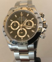 Rolex Cosmograph Daytona  NOS all stickers 116520 Chromalight