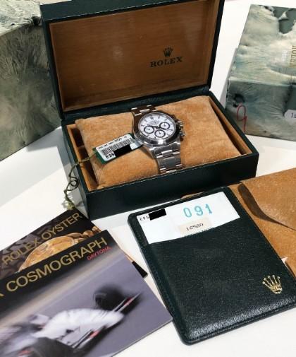 Rolex Cosmograph Daytona 16520 dial Porcelain