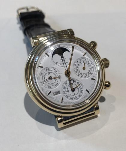 IWC Da Vinci Perpetual Calendar Moonphase Chronograph