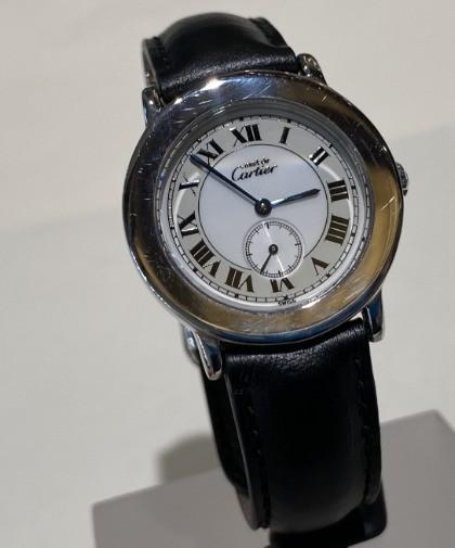 Cartier Ronde quartz