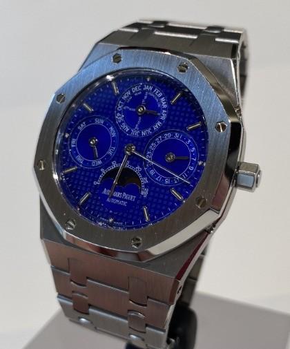 Audemars Piguet Royal Oak Perpetual Calendar Blue Klein