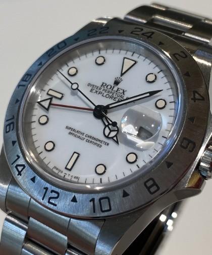 Rolex Explorer II Chicchi di Mais 16570