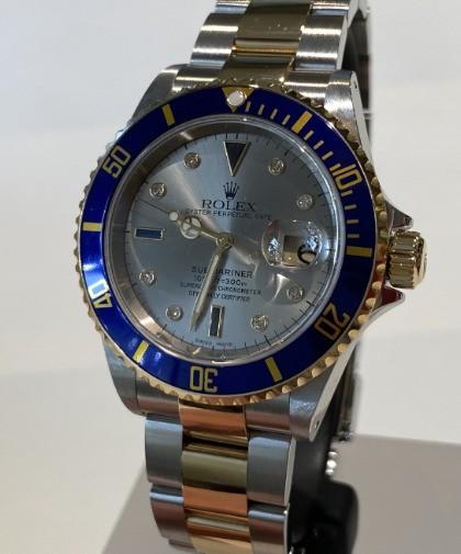 Rolex Submariner 16613 Sultan dial