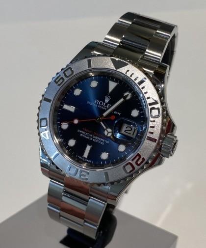 Rolex Yacht-Master 116622 blue dial