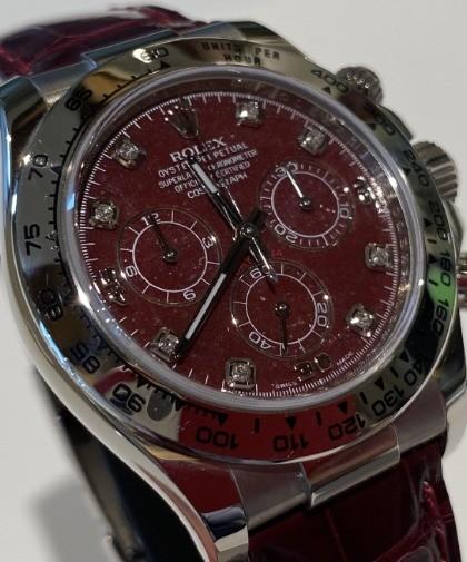 Rolex Cosmograph Daytona 116519 Daytona  Grossular Rubellite Dial