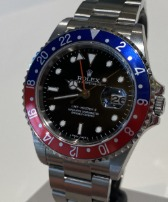 Rolex GMT-Master II Nos-Stick Dial-Full Stickers 16710